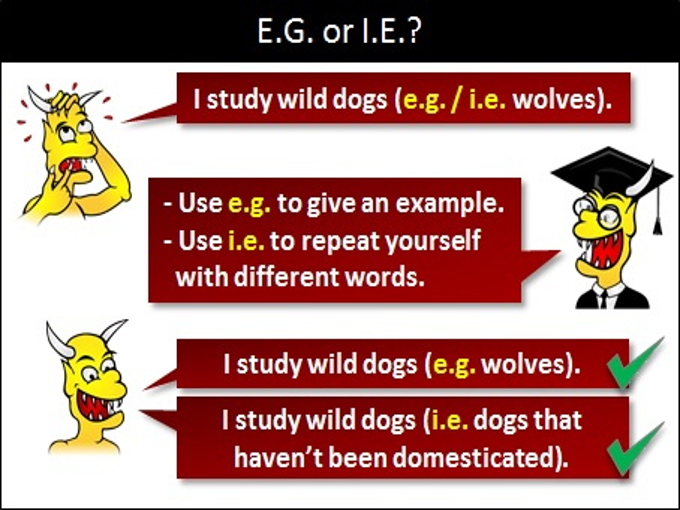 Eg Or Ie