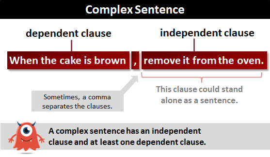 complex sentence | what is a complex sentence?