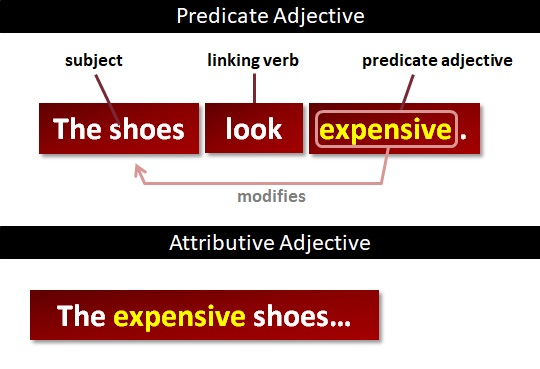 predicate adjectives | what are predicate adjectives?