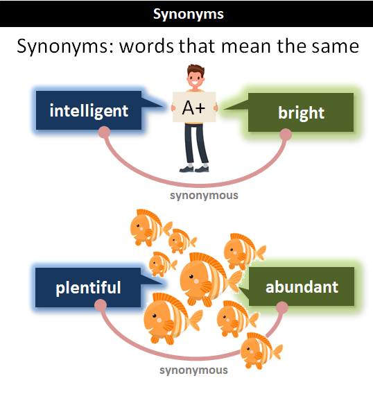 synonyms examples
